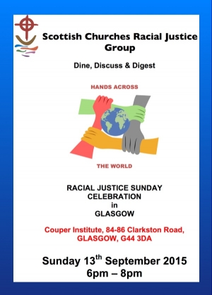 Racial Justice Sunday 2015 - VENUE ANNOUNCED