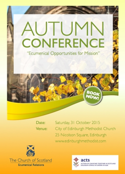 ACTS/CoS Autumn Conference 2015